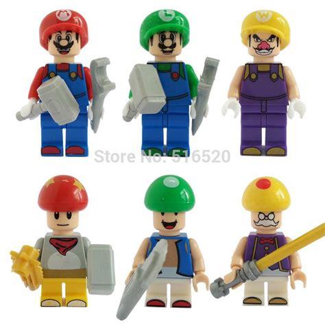 Mario Vizzari Classic Original Brand mario bros luigi mario figures classic toys building
