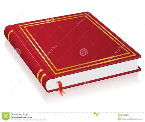 book pictures book with bookmark vector illustration royalty free