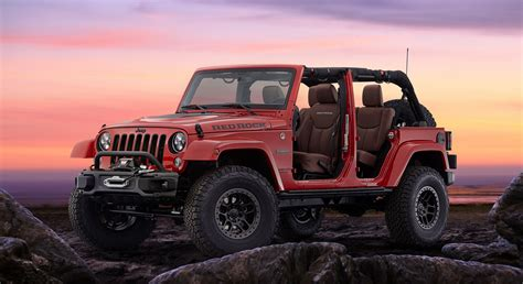 Jeep Wrangler Special Editions Jeep Sends The Wrangler Jk With New Special Editions