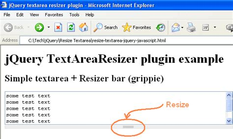 simple jquery plugin template textarea resize javascript resize textarea using jquery