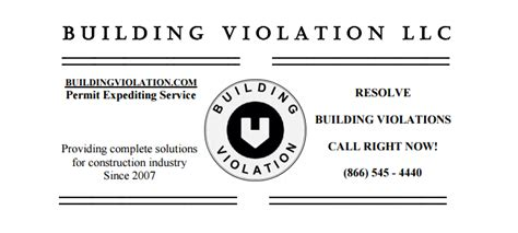 department of buildings violations removal expeditor