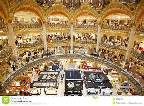si鑒e social galeries lafayette interno di galeries lafayette a parigi fotografia
