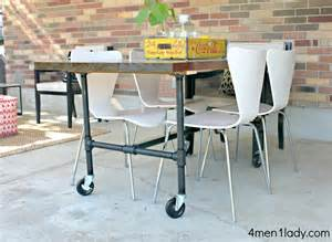 Industrial Pipe Table Legs Diy Industrial Dining Table Industrial Chic