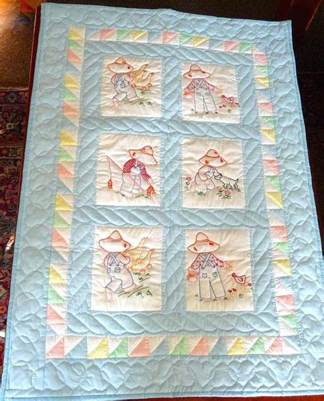 Handmade Baby Quilt Patterns - an easy handmade baby quilt baby quilt embroidery