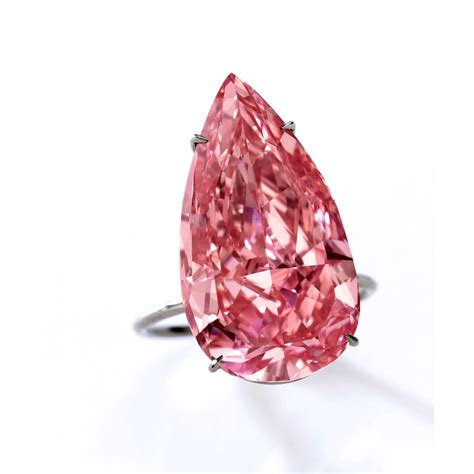 Pink Diamon Crop unique pink top lot at sotheby s geneva next month