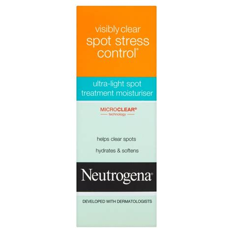 neutrogena light spot treatment neutrogena visibly clear spot stress ultra light
