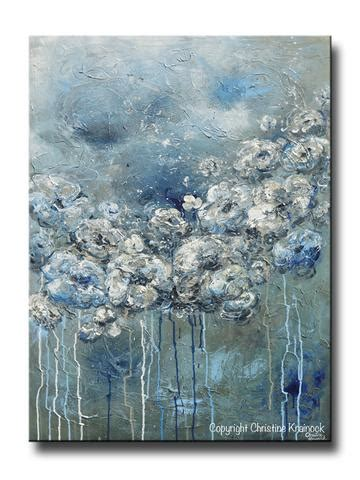 blue and white painting shop abstract paintings prints canvas prints wall