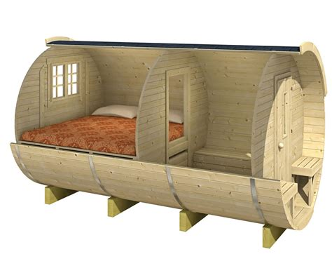 Small Log Cabin Plans Log Cabin Barrel Camping Pod Or Office