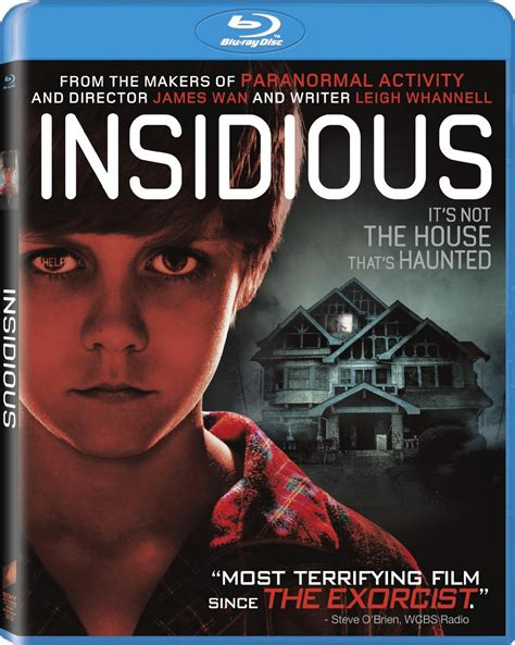 insidious 2010 directed by james wan reviews film insidious blu ray review review st louis
