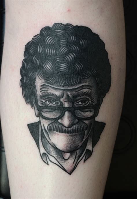 browse a gallery of kurt vonnegut tattoos and see why he