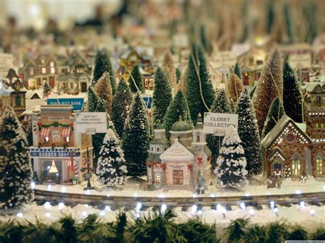 wallpaper christmas town winter small town wallpapers and images wallpapers