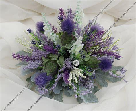 Cannytastic Flowers. Artificial Scottish Silk Wedding