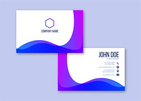 Https Www Vecteezy Free Vector Business Card Templates by Creative Business Card Vectors Free Vector