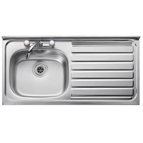 leisure kitchen sink spares leisure contract single bowl square edge 1000 x 500mm right