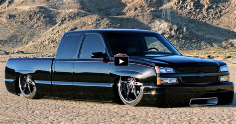 Killer Custom On A Chevy Silverado Truck Cars