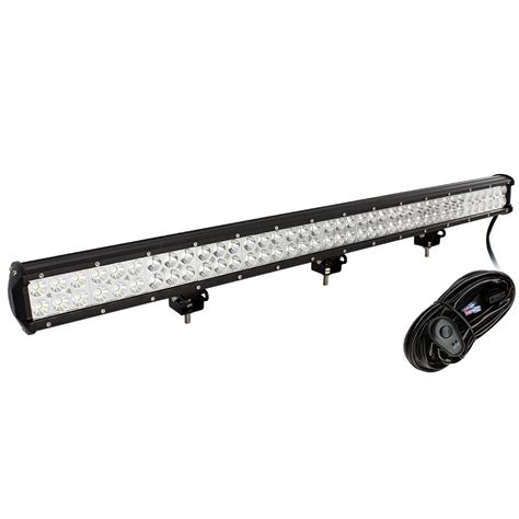 led tractor light bar 36 5 quot inch 234w cree led work light bar for tractor boat