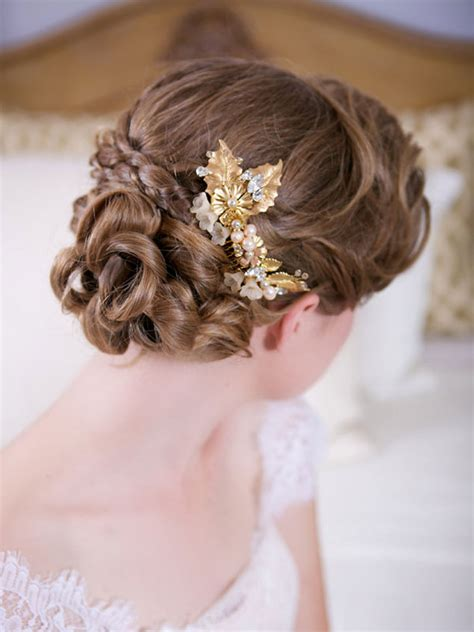 Wedding Hair Accessories Gold by Gold Hair Accessories Us221