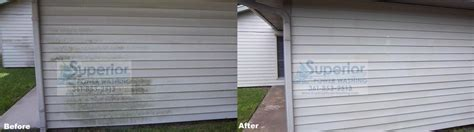 clean siding on house photo gallery superior power washing