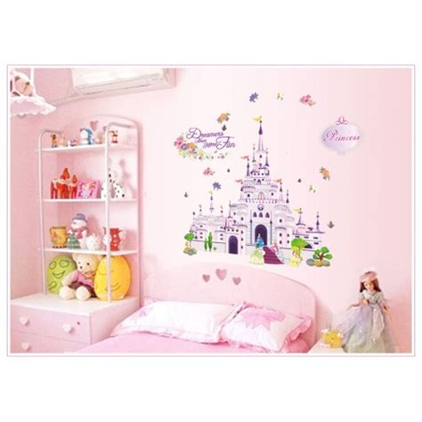princess castle wall stickers princess castle dreams wall decals vinyl wall stickers by walldecalscanada ca