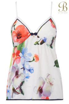 Camisole Forget Me Not Charita Pink womens printed vests printed longline vests next uk