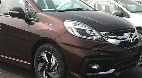 Headl Honda Mobilio Rs Kiri honda mobilio rs variant front fascia indian autos