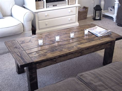 woodwork building coffee table  plans