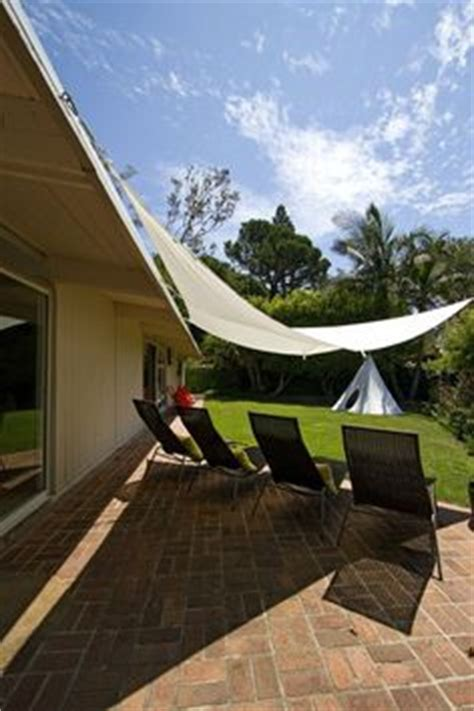 Triangular Awning by 1000 Images About Backyard Shade Ideas On