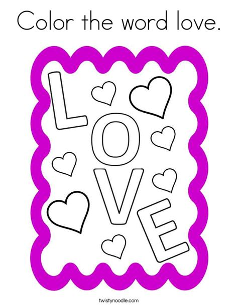 coloring pictures of love words the gallery for gt the word love coloring pages