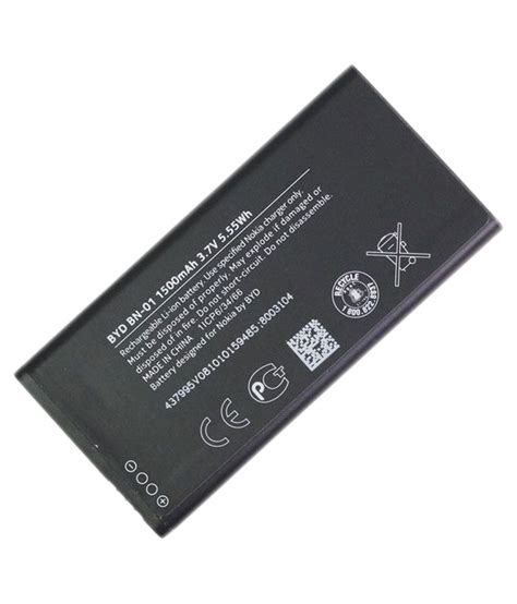 nokia bn01 battery 1500 mah for nokia x buy nokia bn01 battery 1500 mah for nokia x at