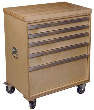 Small Drawers On Wheels Woodworking Build A Rolling Tool Chest Plans Pdf