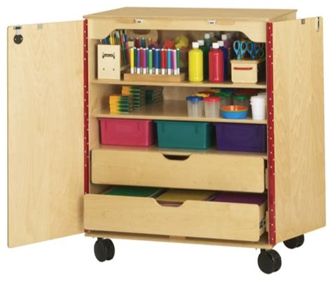 art supply storage cabinet supply cabinet daycare playground equipment