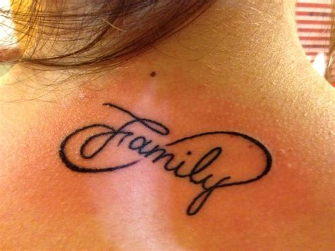 family infinity tattoo designs 35 family infinity symbol tattoos