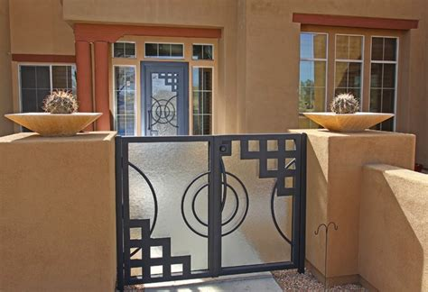 Modern Contemporary Bathroom Vanities Nouveau Iron Gate By First Impression Security Doors