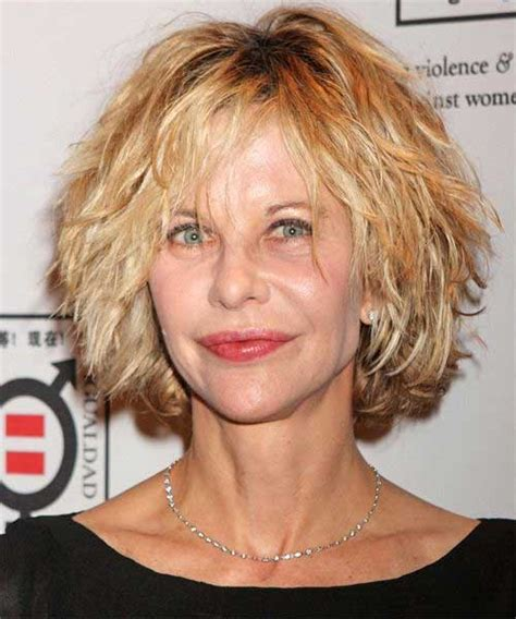 meg ryan messy hair styles meg ryan curly bob the best short hairstyles for women 2016