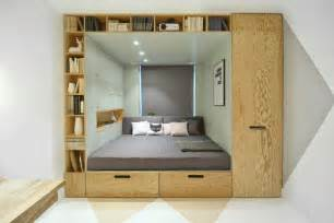 Bunk Beds In A Small Room 13 Amazing Exles Of Beds Designed For Small Rooms Contemporist