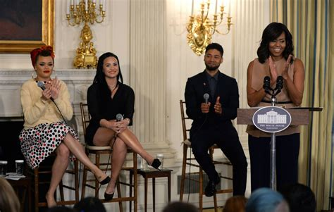 in performance at the white house demi lovato in performance at the white house series hosted by michelle obama in