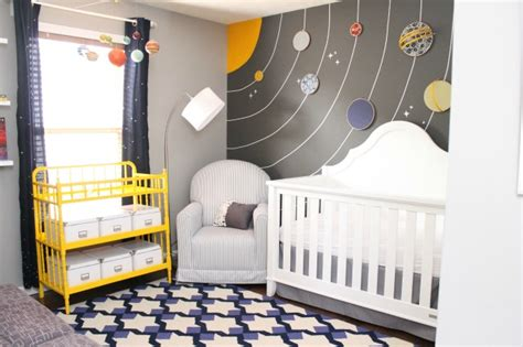 Galaxy Baby Room by Space Themed Nursery On Outer Space Nursery