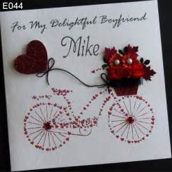 handmade card greeting personalised bike handmade cards birthdays and handmade greetings