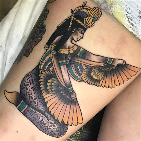 egyptian goddess tattoos 70 best designs meanings history on your
