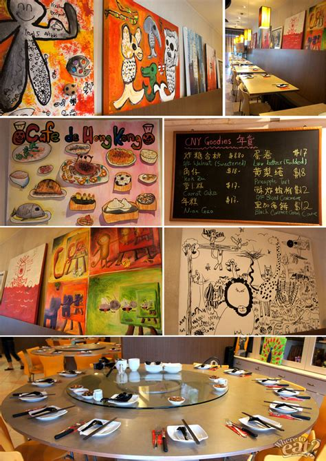 hong kong new year menu cafe de hong kong hk style new year delights