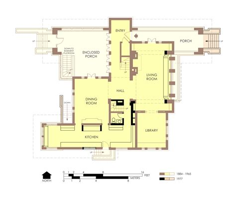 floor plans file hills decaro house first floor plan post fire jpg