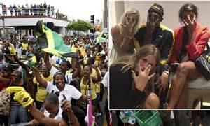 olympics  athletics jamaica parties  night