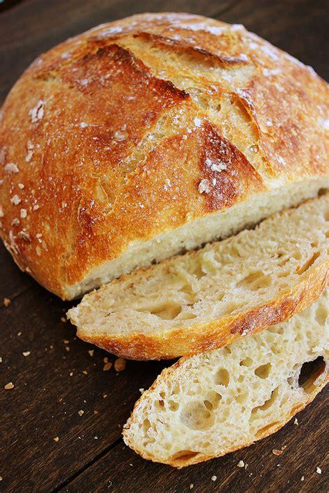 no knead crusty artisan mini loaves