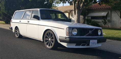highly modified 1975 volvo turbo wagon for sale photos