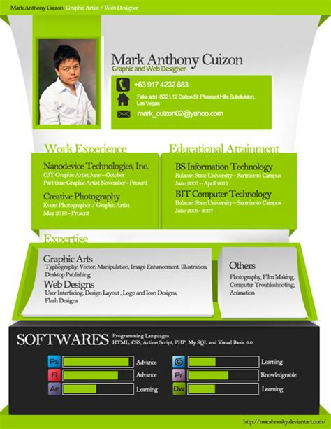 Mind Blowing Resumes 40 mind blowing and creative resume designs for
