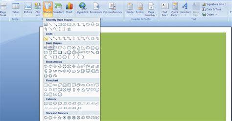 Microsoft Office Asli cara membuat denah dengan ms word komunitas anak tkj