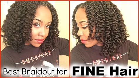 best hairstyles for fine natural hair blowout and braidout for fine natural hair youtube