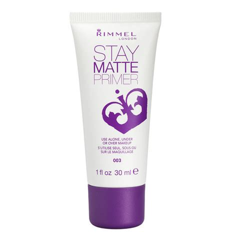 Rimmel Primer rimmel stay matte primer 003 30ml drugs