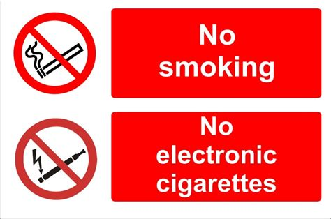 no smoking sign e cigarettes no smoking no electronic cigarettes sign sk signs labels