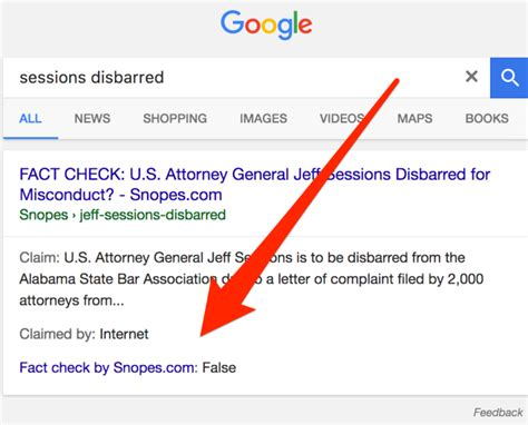 Snopes True Search Expands Fact Checking Effort To All Searches Worldwide Search Engine Land